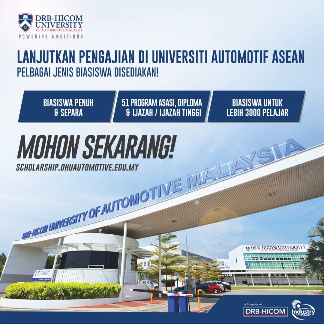 Drb Hicom University Offers Scholarships Worth Rm52 Million Drb