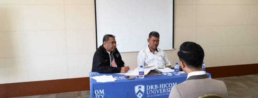 Open Day Scholarship & Registration Sessions at Wisma DRB-HICOM, Shah Alam, Selangor Darul Ehsan