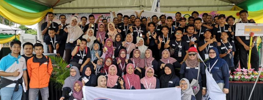 DRB-HICOM University Place 3rd in the MASISWA East Coast Sports Game 2018