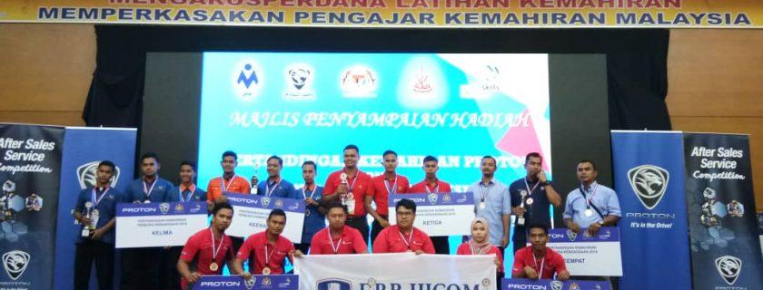 DRB-HICOM University emerges winner in World Skills Malaysia 2018 Youth Category.