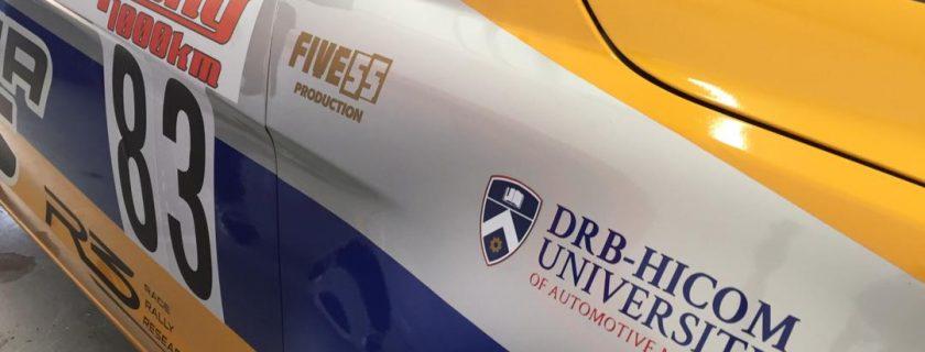 10 orang pelajar DRB-HICOM University menjadi krew Proton R3