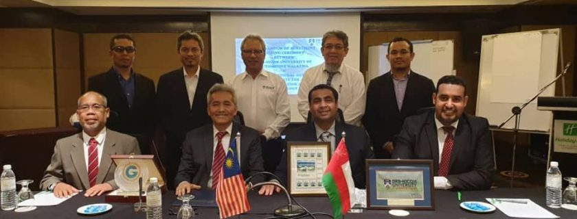 Memorandum of Agreement between DRB-HICOM University and International Gulf Institute for Administration & Technology.