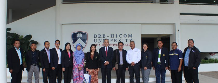 DRB-HICOM received visit from Princess Naradhiwas University