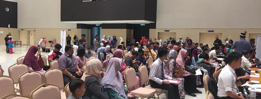 DRB-HICOM University Registration Day June 2019 Intake