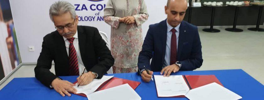 Memorandum of Understanding between DRB-HICOM University and Naza Education Sdn. Bhd.